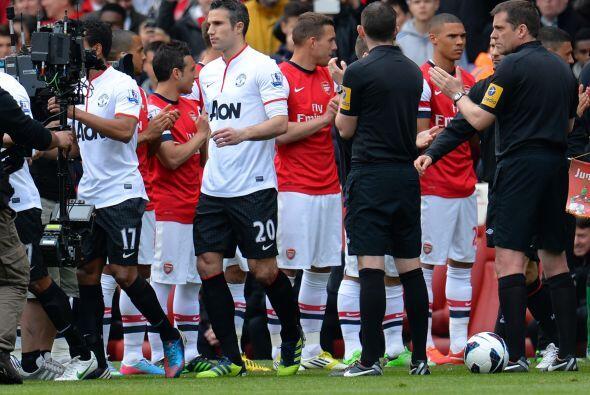 El Manchester United disputó su juego de la fecha 35 de la Liga Premier...