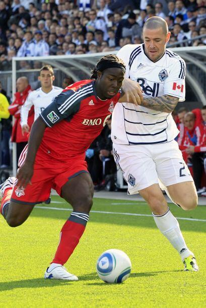 El Toronto FC fue su primer rival y no pudo con el poderío del Vancouver...
