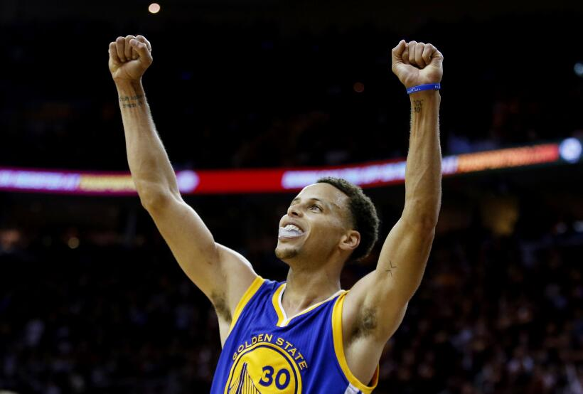 Stephen Curry, el gatillero de Golden State