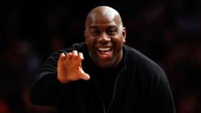 La ex estrella de la NBA Magic Johnson entrará a un proyecto de salud, j...