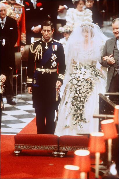 Diana Spencer se había convertido en la princesa de Gales quince años an...