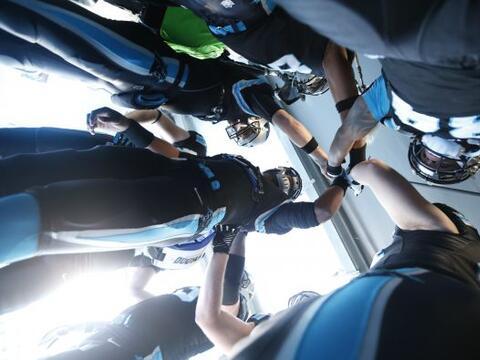 10. Grupo de Panteras: Los Carolina Panthers se reúnen antes de e...
