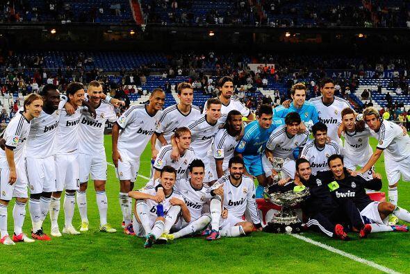 No podemos empezar con otra equipo que no sea el Real Madrid, pues justo...
