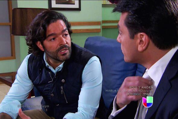 ¡Agárrate Fernando! Diego te dará una noticia que te hará ir de espaldas.