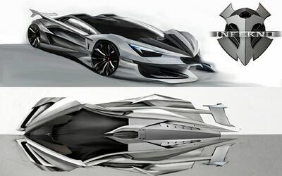 Propuestas de diseño para Inferno Automobili