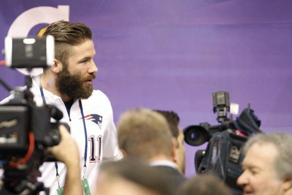 Los New England Patriots se mostraron silenciosos en el Media Day, estas...