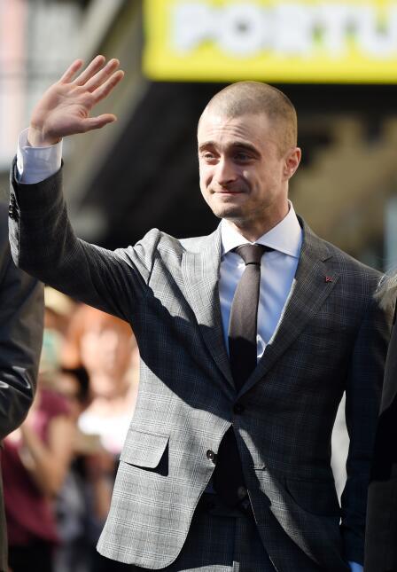 El actor recibió feliz su estrella en el Paseo de la Fama en Hollywood B...