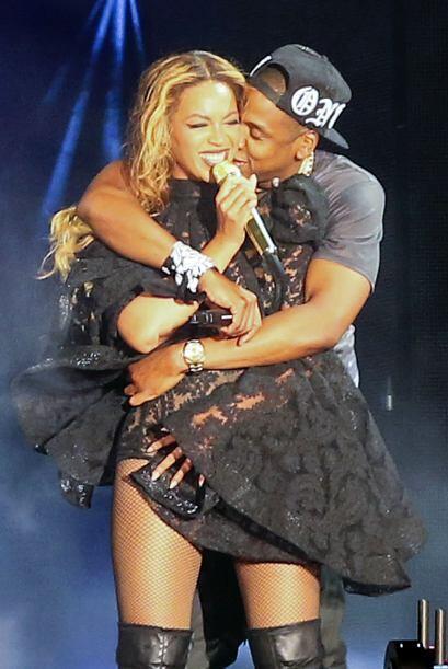 DE GIRA Y ENAMORADOS. Otro top moment de Beyoncé y Jay Z fue el arranque...