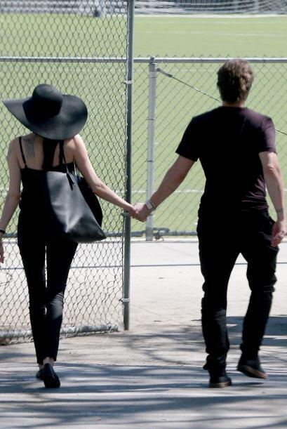 Pero a juzgar por estas fotos todo va perfecto en su relación.