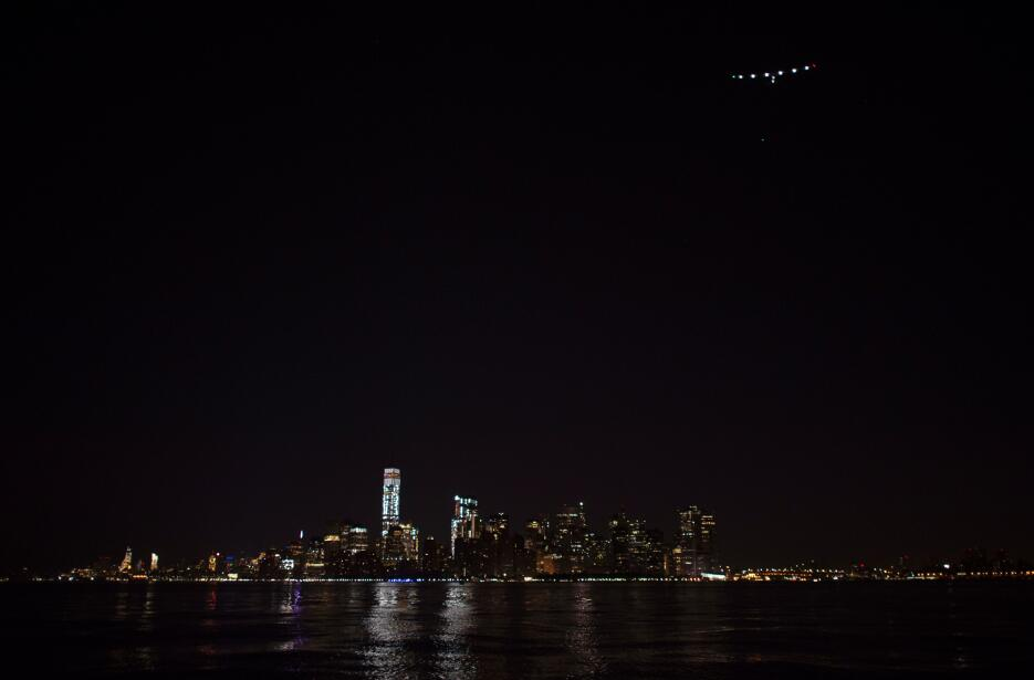 Cerca del One World Trade Center, en Manhattan.