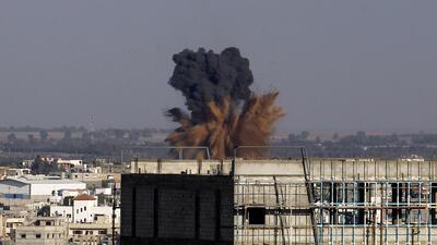 Se rompe la tregua en la Franja de Gaza, Israel contraataca