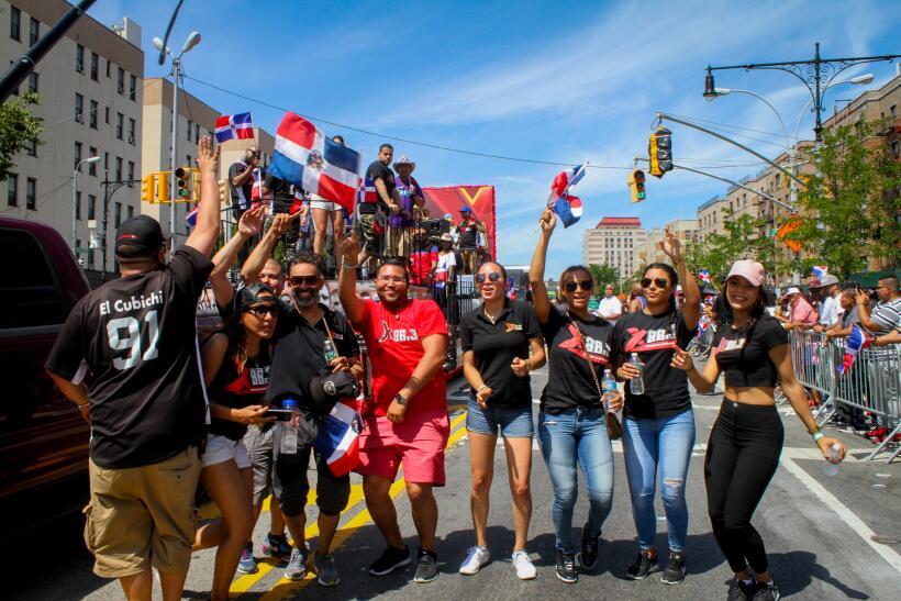 La música, la alegría y el orgullo dominicano fueron los p...