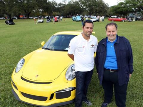 El Gordo participó en el Concours South Florida Car Show en Holly...