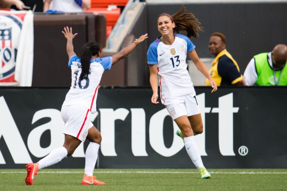 Seleeción Femenil de Fútbol de los Estados Unidos