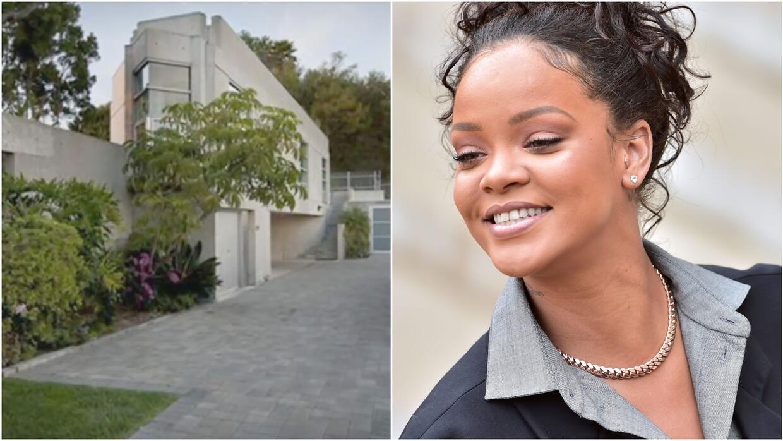 Les mostramos la mansión de Rihanna por fuera y por dentro pero no se de...