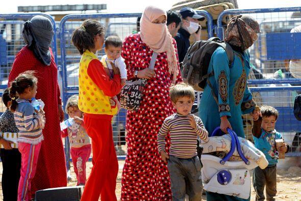 Todos los refugiados coinciden en señalar que el simple hecho de ser kur...