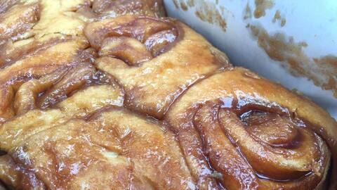 'Cinnamon rolls' de Knaus Berry Farm en Homestead, Florida.