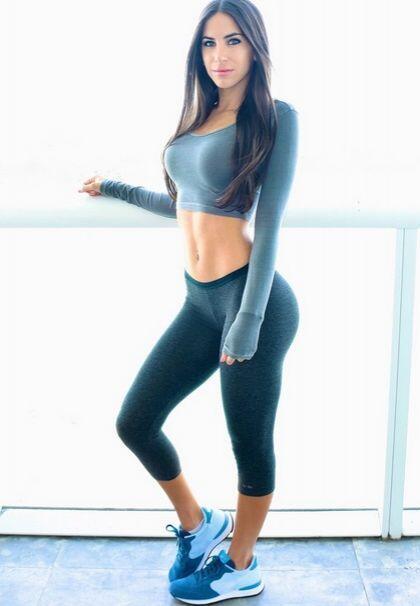 La bella Jen Selter se dio a conocer en redes sociales por su espectacul...