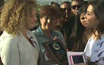 Crystal Rivera, de origen puertorriqueño, recibe el reconocimiento 'Ánge...
