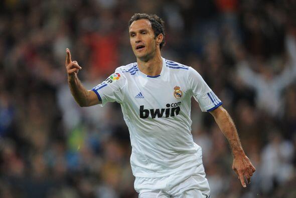El portugués Ricardo Carvalho puso en ventaja a los 'merengues'.