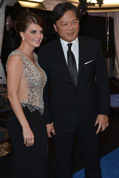 Eduardo Lee, presidente de la Federación de Fútbol de Costa Rica, que ta...
