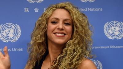 Shakira en UNICEF habló de la importancia de la educación de los niños