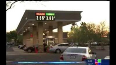 Precios de la gasolina están bajando