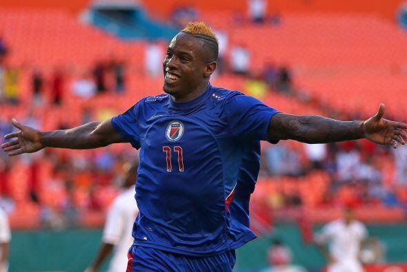 Otro jugador que dejó grata impresión en lo poco que se vio fue el haiti...