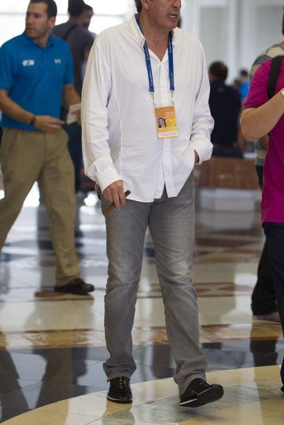 José Antonio García estuvo en el Draft para vender a los jugadores de At...