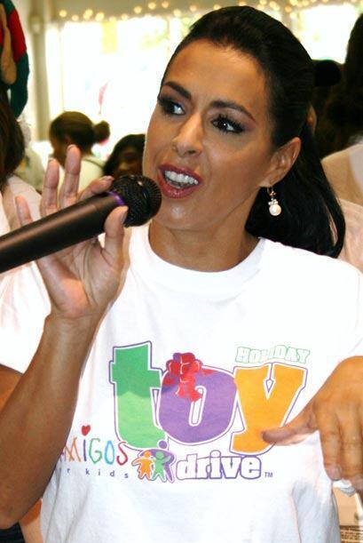 Marisa habló de la importancia de dar esperanza a los niños en esta Navi...