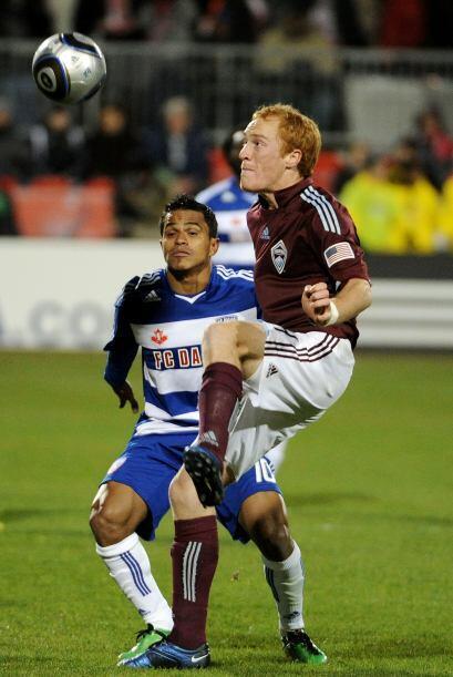 La Copa MLS 2010 se jugó bajo una temperatura congelante de 41 grados Fa...