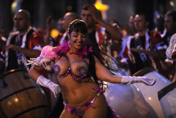 El Día Nacional de Candombe se celebra en Montevideo, Uruguay. Es...