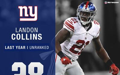 #28: Landon Collins (S, Giants) | Top 100 Jugadores 2017