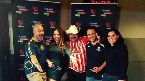 Aly Villegas y Alejandro Berry con el BMF