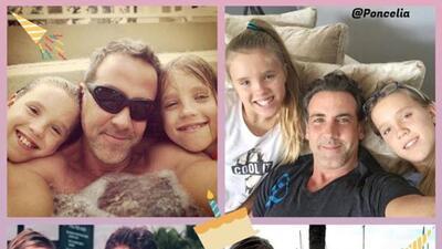 Las gemelas adoptadas de Carlos Ponce ya no son unas niñas pequeñas