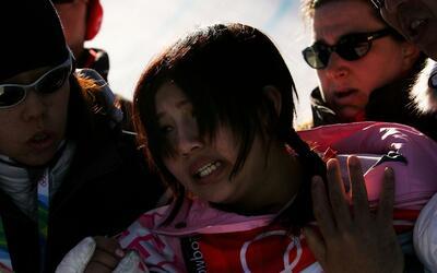 En la imagen aparece la japonesa Melo Imai, quien compitió en la...