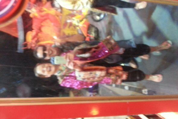 Maria Esther y Rodolfo el Chamo fueron a disfrutar del circo Ringlin Bros!