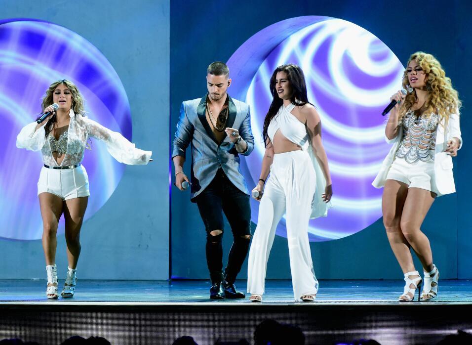 Maluma y Fifth Harmony