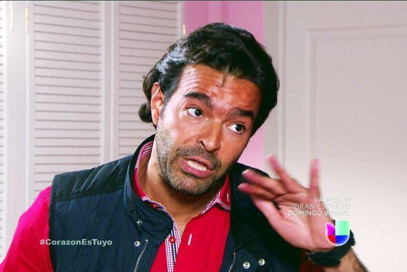 Te lo merecías Diego, tus bromitas casi casi ponen en riesgo el secreto...