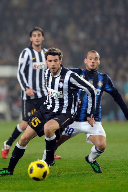 El defensor italiano ya tenía vasta experiencia en el calcio de la Serie...