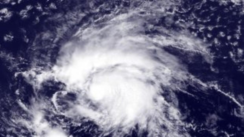 Tormenta Tropical Nate tocó tierra en México.