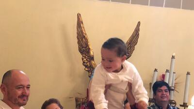 Arleth Terán celebra junto a su expareja el bautizo de su hijo León Alexander