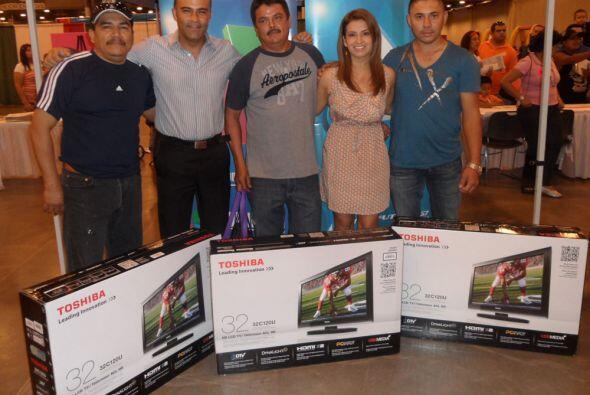 Y finalmente aquí te presentamos a los afortunados ganadores de los tele...