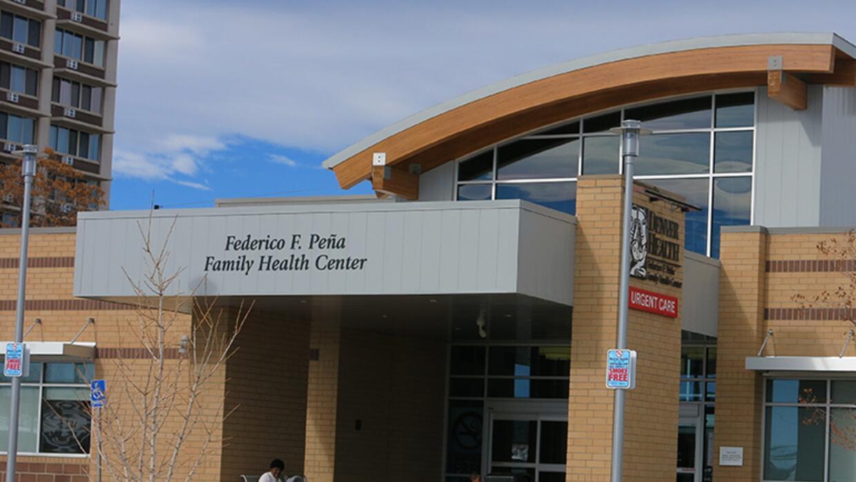 El Federico F. Peña Southwest Family Health Center en Denver es parte de...