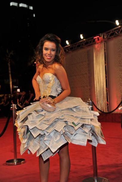 El vestido de Beatriz Luengo nos puso a pensar, en la crisis de los medi...