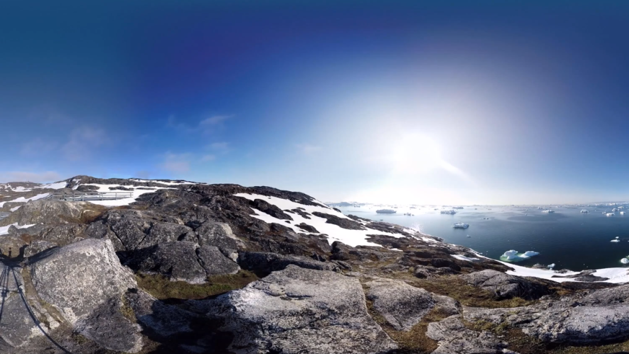 Groenlandia en 360°