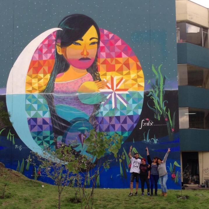 Muralistas chilenas se organizan para tomarse las calles 12246915_164934...