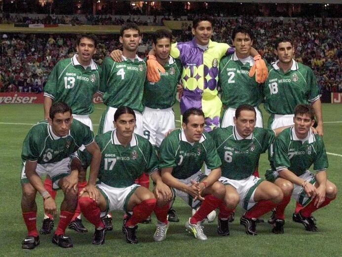 Así fue el título de México en la Copa Confederaciones de 1999 GettyImag...