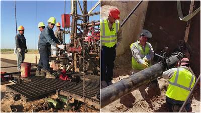Hispanos arriesgan su vida trabajando en la extracción de petróleo en este pueblo de Nuevo México