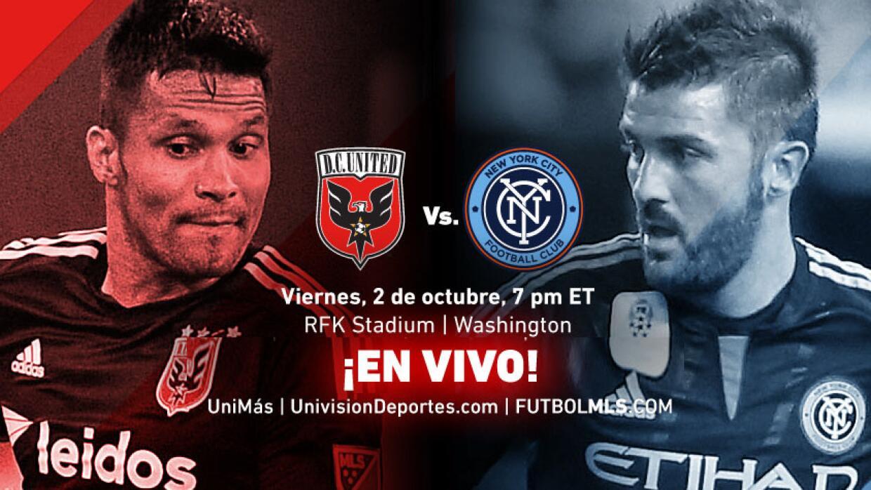 EN VIVO | D.C. United vs New York City FC